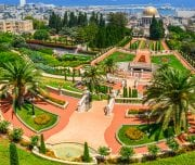 the-bahai-gardens-in-haifa-israel-Mazada Tours
