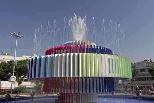 Modern Fountain - Mazada Tours