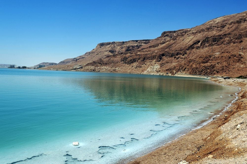 Dead-Sea-coastline-Mazada Tours