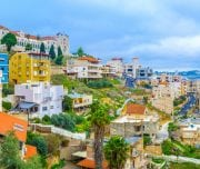 The-city-of-Nazereth-located-in-the-hilly-region-Galilee-in-North-region-of-Israel