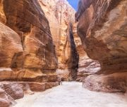 The-road-between-the-red-cliffs-to-the-ancient-city-of-Petra