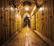 narrow-street-in-the-old-city-of-jerusalem-Mazada Tours