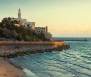 old-port-in-tel-aviv-at-sunset-Mazada Tours