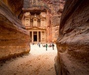 ancient-temple-in-petra-jordan-Mazada Tours