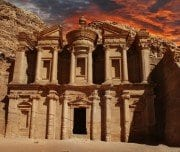 ancient-temple-in-petra-jordan