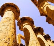 Columns in The Temple of Karnak - Mazada Tours