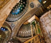 Interior of Mohammed Ali Mosque - Mazada Tours