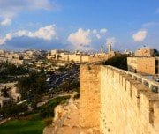 jerusalem-old-city-wall-top-Mazada Tours