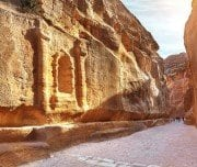 Main Entrance to the ancient city of petra