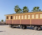 Old train station in neve tzedek - Mazada tours