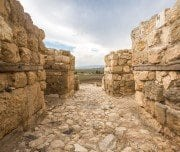 ruins-of-historic-tel-megiddo-Mazada Tours