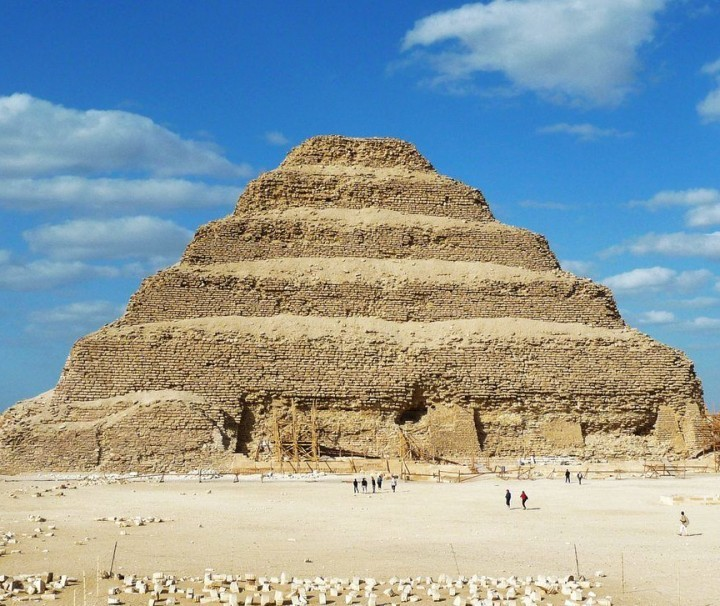 Step Pyramid of Djoser in Saqqara - Mazada Tours