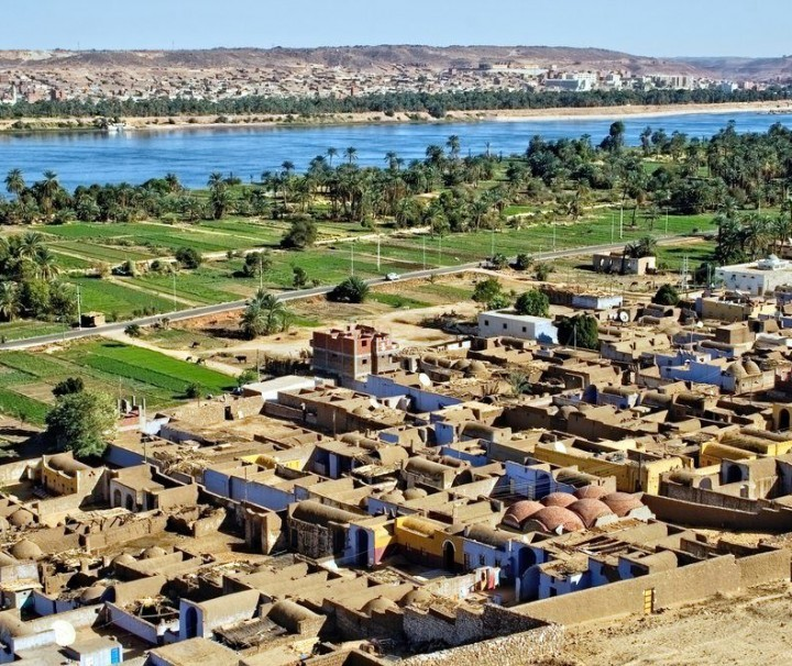 View at nubian village - mazada tours