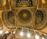 Interior of the Mosque of Muhammad Ali - Mazada Tours