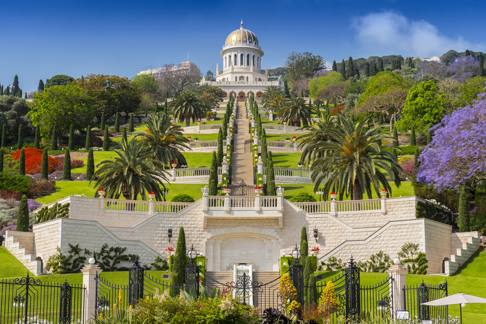 things to do in haifa_bahai gardens